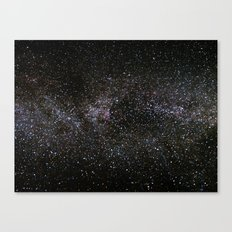 Milky Way Stars Canvas Print