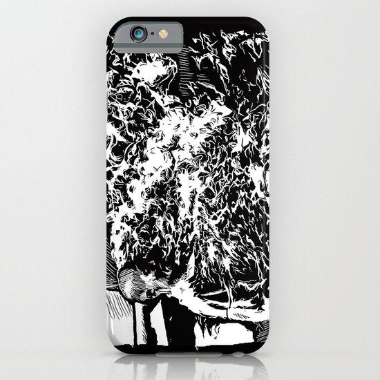 Burning Monk iPhone & iPod Case