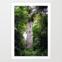The World's Oldest Wood,… Art Print