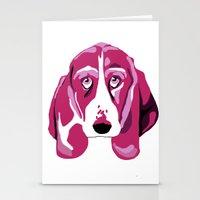 Hound Dog Stationery Cards