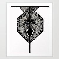 Letter T Art Print