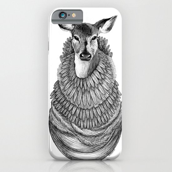Feathered Deer.  iPhone & iPod Case