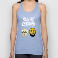 Run The Country Unisex Tank Top