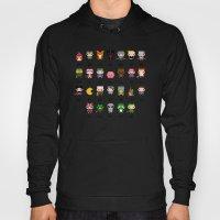 Video Games Pixel Alphab… Hoody