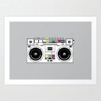 1 kHz #7 Art Print