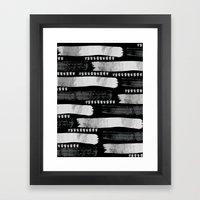 Brush Strokes #1 Framed Art Print
