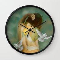 Hatching Wall Clock