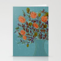 Blue Bouquet Stationery Cards