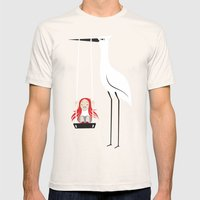 Swings Mens Fitted Tee Natural SMALL