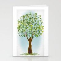 Life Tree Stationery Cards
