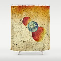 Take me to the moons and back Shower Curtain