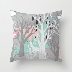 No End In Sight Throw Pillow