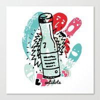 antidote Canvas Print