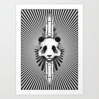 Bamboo Bones Art Print