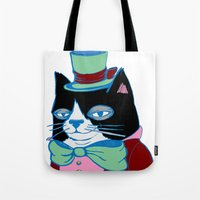 Dignified Cat Does Paste… Tote Bag