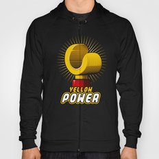 Yellow power Hoody