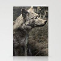 Tom Feiler Wolf Stationery Cards