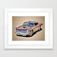 Pontiac GTO Framed Art Print