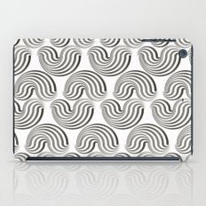 Black and white pattern - Optical game12 iPad Case