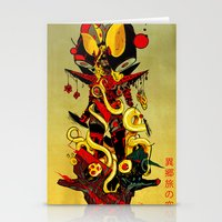 Queen Skullbash Stationery Cards