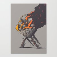 Insanity Canvas Print