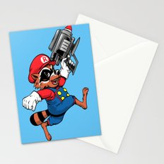 Super Rocket Stationery Cards
