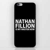 Nathan Fillion Is My Mas… iPhone & iPod Skin