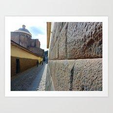 Cuzco Alley 2011 Art Print