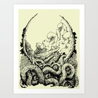 Landscape 07 Art Print