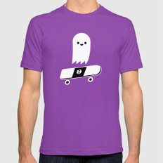 Skate Ghost Mens Fitted Tee Ultraviolet SMALL