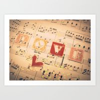 Music is Love in Search of a Word - ANALOG zine Art Print