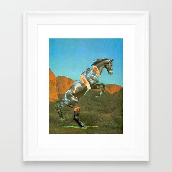 Fillet Framed Art Print