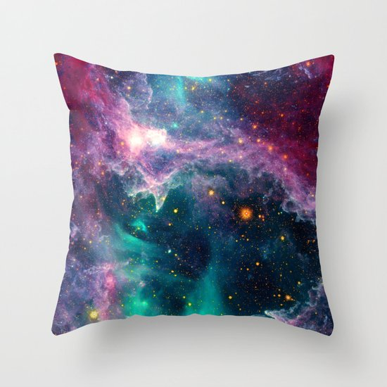 Pillars of Star Formation Throw Pillow