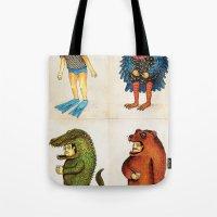 Costumes - Animalados Tote Bag
