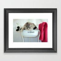 Bathtime... Framed Art Print
