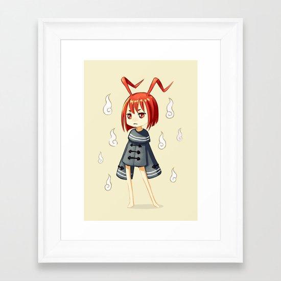 Magician 3 Framed Art Print