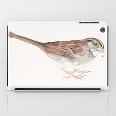 White-throated Sparrow iPad Case