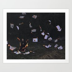 Your A Blaze Art Print