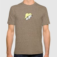 Separations Mens Fitted Tee Tri-Coffee SMALL