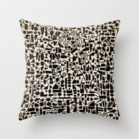 - micro - Throw Pillow