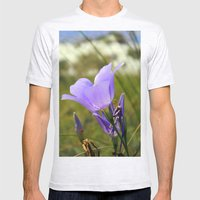 Flower in the Sand Mens Fitted Tee Ash Grey SMALL
