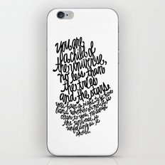Desiderata iPhone & iPod Skin