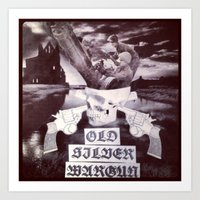 OSWG Blast Masters Plate Art Print