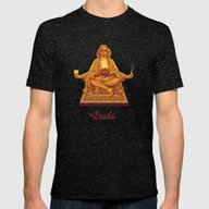 The Lebowski Series: The… Mens Fitted Tee Tri-Black SMALL