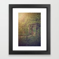 The Secret Garden Framed Art Print