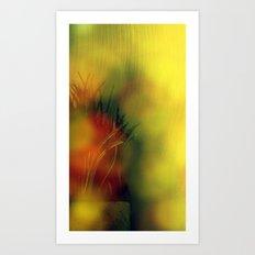 Groovy Grass Art Print