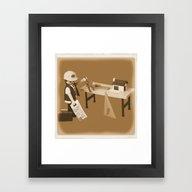 Custom Piece 81 Framed Art Print