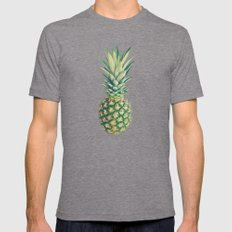 Pineapple Mens Fitted Tee Tri-Grey SMALL
