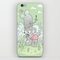 knee deep iPhone & iPod Skin