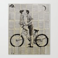 love cycle Canvas Print